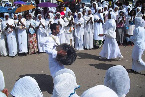 Timkat-Epifania ortodossa-musica etiope-Castello Fasiladas-Gondar-Etiopia-Ethiopia