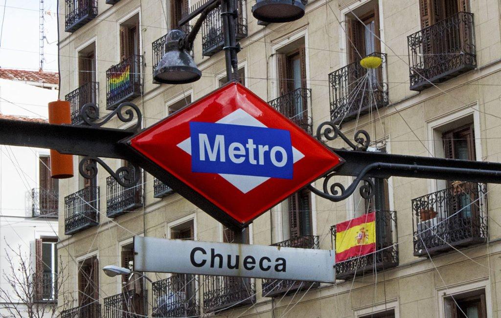 Chueca-piazza-metro Madrid-Madrid-Spagna-Spain