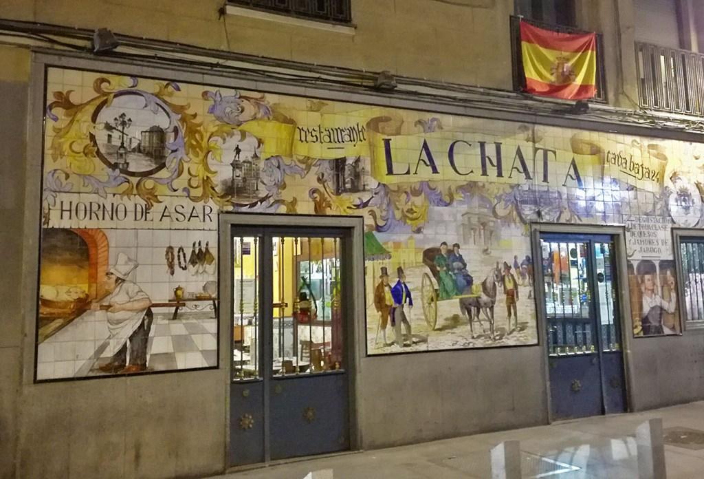 Decori dei locali di Madrid Spagna Spain