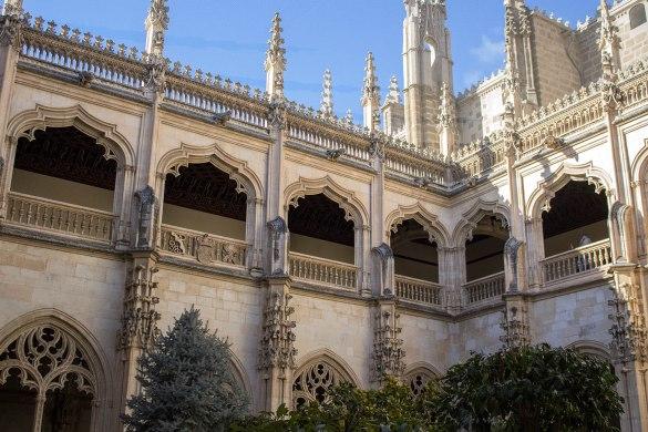 San Juan de los reyes-chiostro Toledo-Toledo-Spagna-Spain-Europa