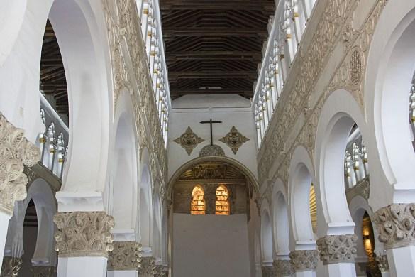 Sinagoga Toledo-Sinagoga-Toledo-Santa Maria la Blanca-Spagna-Spain-Europa