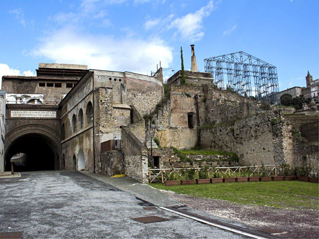 Panoramica cartiera e santuario-Santuario Ercole Vincitore-Tivoli-Lazio-Italia-Europa