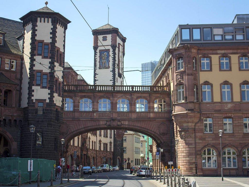 Romer Francoforte-Alstadt-città vecchia Francoforte-Francoforte-Frankfurt-Germania-Germany-Europa