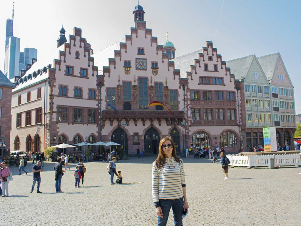 Romer-Municipio Francoforte-Francoforte-Frankfurt-Germania-Germany-europa