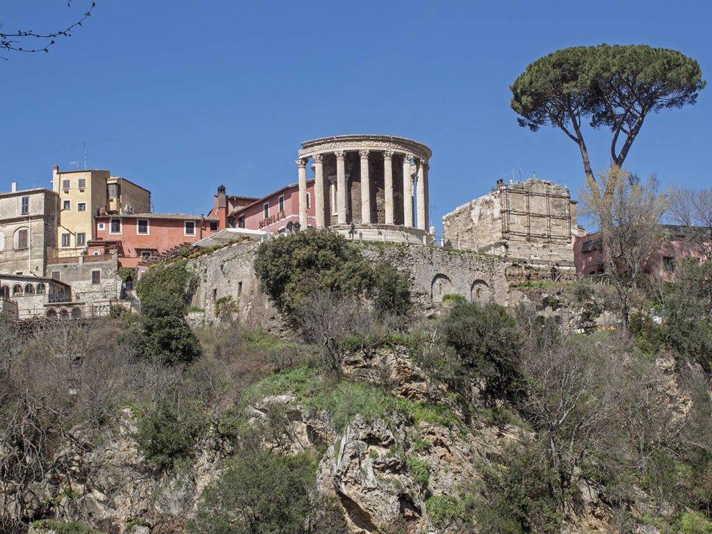 Tempio greco-acropoli tivoli-Tivoli-Lazio-Italia-Europa