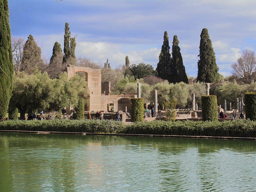 Villa Adriana-Tivoli-Lazio-Italia-Europa