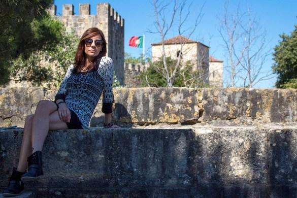 castl de sao jeorje-castello di san giorgio-castello lisbona-Lisbona-lisbon-Portogallo-Europe-Europa