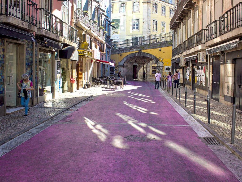 strada rosa-caiso do sodrè-Lisbona-lisbon-Portogallo-Europe-Europa