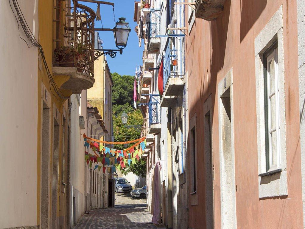 vicoli alfama-Lisbona-lisbon-Portogallo-Europe-Europa