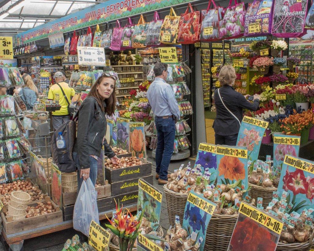 Mercato dei fiori-mercato dei fiori Amsterdam-Amsterdam-Olanda-Holland-Netherlands-Paesi Bassi-Europa-Europe