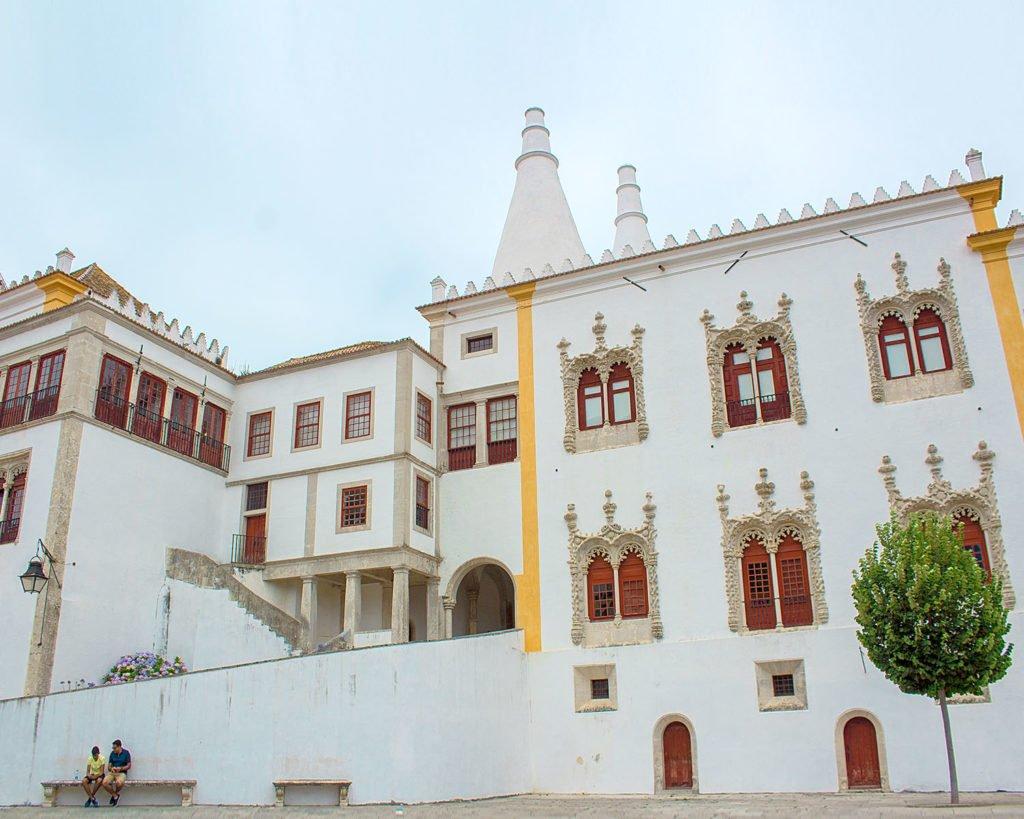palacio nacional-palacion nacional sintra-Portogallo-Portugal-Europa-Europe