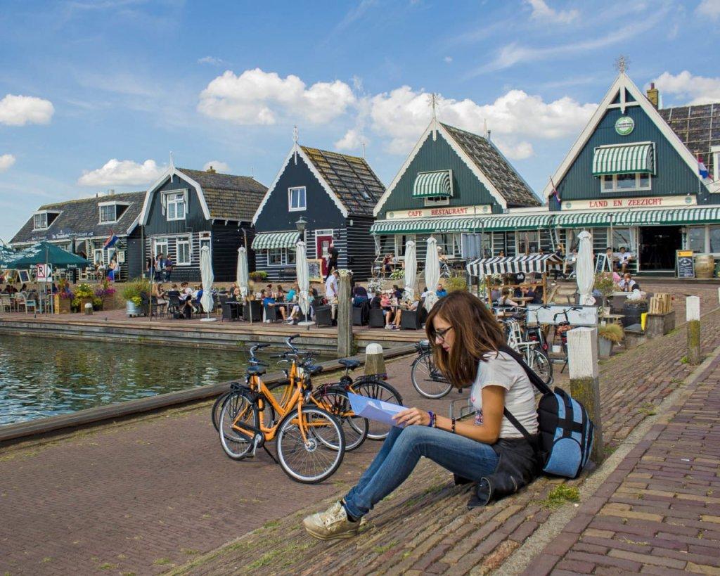 Marken-villaggio Olanda-dintorni di Amsterdam-Amsterdam-Olanda-Holland-Paesi Bassi