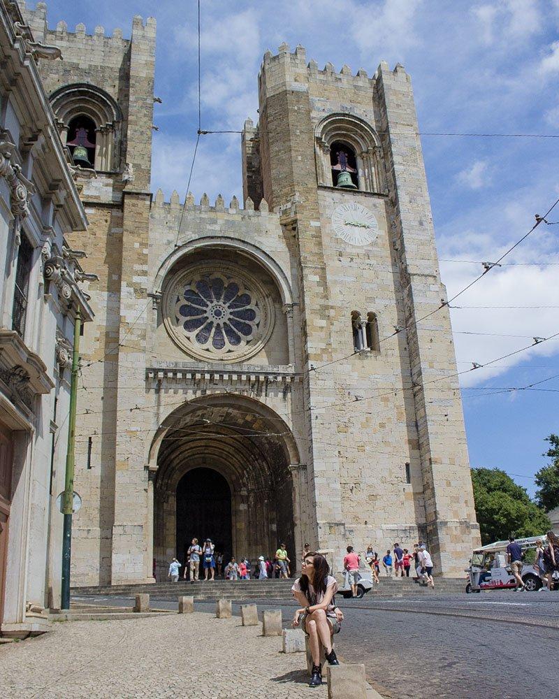 Cattedrale di Lisbona-Lisbona-Lisbon-Portogallo-Portugal-Europe