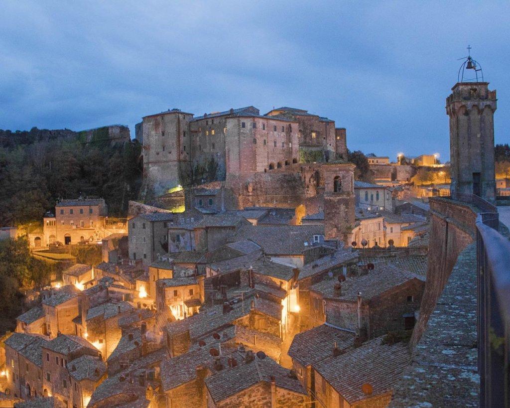 Sorano-panoramica Sorana-Matera Toscana-Maremma Toscana-Toscana-Italia-Tuscany-Italy