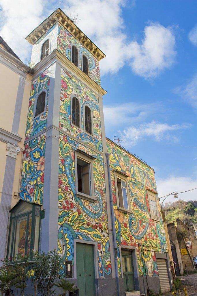 chiesa santa maria rione sanità-rione sanità-street art rione sanità-Street art Napoli-Napoli-Campania-Italia
