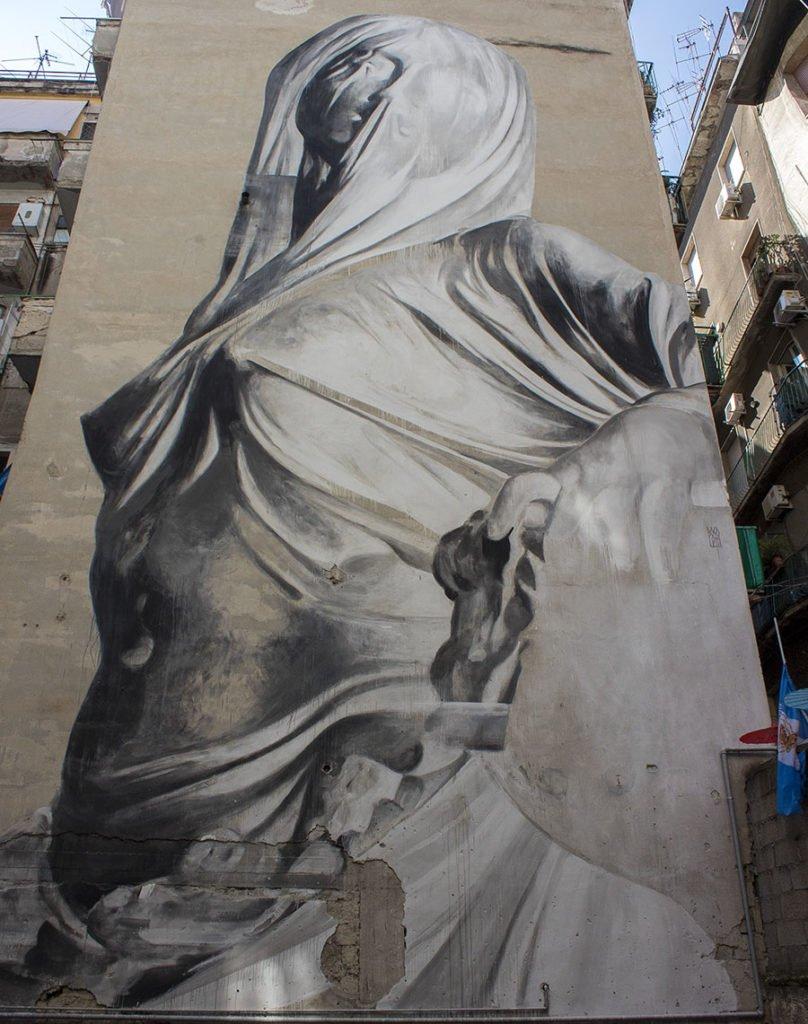 pudicitia-murales pudicitia-murales quartieri spagnoli-quartieri spagnoli napoli-Street art Napoli-Napoli-Campania-Italia