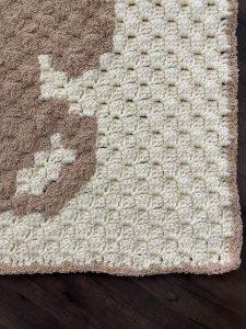 Adorable DIY Crochet Teddy Bear Blanket | 300x225