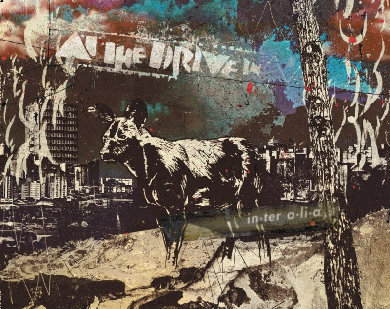 At The Drive In Announce New Album, in • ter a • li • a