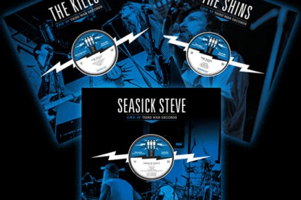 Third Man Records Releasing Live at Third Man Releases (The Shins, The Kills, Seasick Steve)