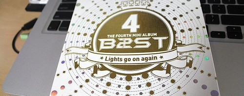 b2st(비스트) 'lights go on again' giveaway