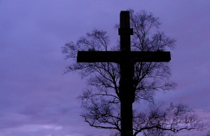 cross and tree
