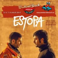 Bombazo en el Weekend Beach: ESTOPA
