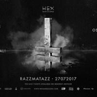 HEX prepara el mayor evento Techno de los últimos años en Razzmatazz, HEX at RZZ