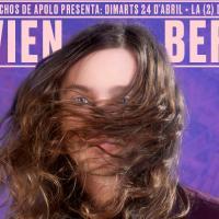 Caprichos de Apolo presenta a Flavien Berger este próximo 24 de abril