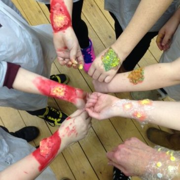 The messiest messy church