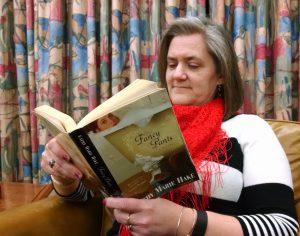 Library Director Shari Taylor Enjoys a good book