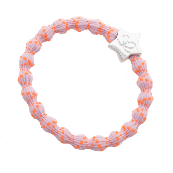 earlybirdfashion-Neon-Bubblegum-Silver-Star-OrangeOnPink-ByEloise