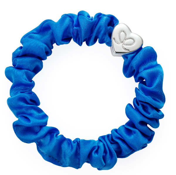 Seiden Scrunchie Blau By Eloise London