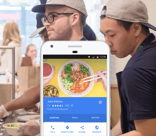 restaurant google my business help