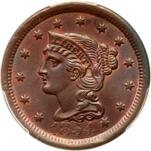 The John Davis Collection of 1854 Large Cent Varieties