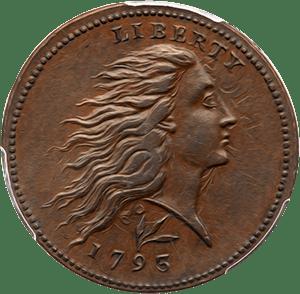 Half Cent 1793-1797 Liberty Cap