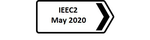 IEEC2 Conference in May 2020 - Booking now open