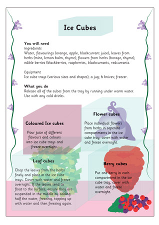 Ice Cubes Activity Eyfs And Ks1 Free Early Years