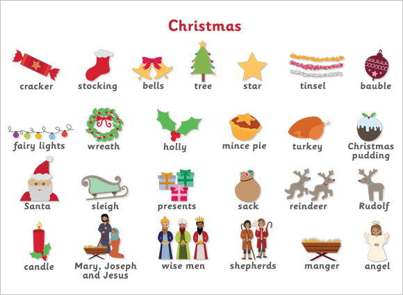 Christmas Word Mat Free Early Years Amp Primary Teaching
