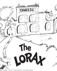 free printable lorax activity pages earlymoments com
