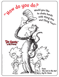 the cat in the hat activities printable coloring pages amp art