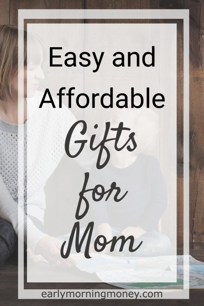 Find the best AFFORDABLE gifts for mom!