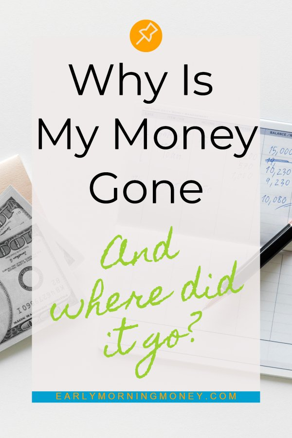 Why am I living paycheck to paycheck? Where did my money go? Here, I break down exactly how we spend our money every month. #personalfinance #budget #debtfree #fire #emorningmoney