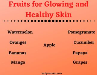 Top 9 Fruits for Glowing and Healthy Skin