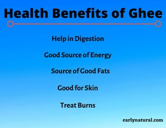 Top 5 Health Benefits of Ghee and How to make Ghee?
