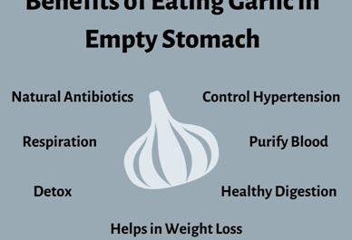 Garlic in an Empty Stomach