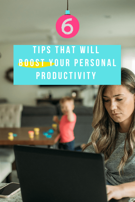 Personal productivity tips for working from home
