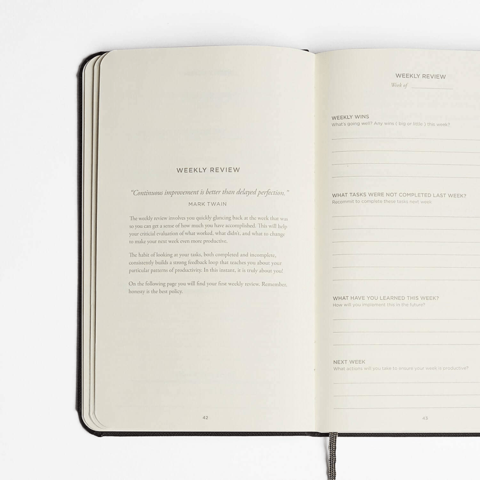 The-productivity-Planner-weekly-review