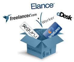 Work as a freelancer