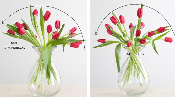 tulip symmetry