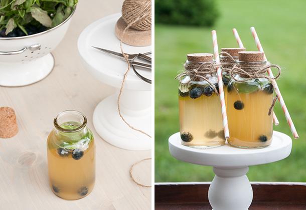 wedding favor drink diptych
